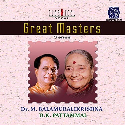 M. Balamuralikrishna & D. K. Pattammal