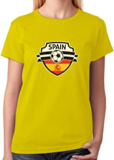 Tstars - Spain Soccer/Football Team Fans Women T-Shirt