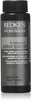 Redken 5 Minute Hair Color for Men, Medium Ash,2 Fl Oz