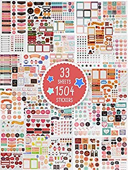 Aesthetic Planner Stickers - 1500+ Stunning Design Accessories Enhance and Simplify Your Planner Journal Calendar And Scrapbook