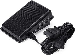 comprar comparacion Walfront Pedal de Control de Pie Control Eléctrico de Pie con Cable para Máquina de Coser Enchufe de la UE para Singer (EU...