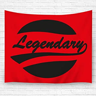 YILINGER Tapestry Wall Art Legendary Caligraphy Supported Hanging Wall Decoration Blanket 59.1