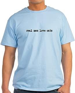Real Men Love Cats Light T-Shirt Cotton T-Shirt