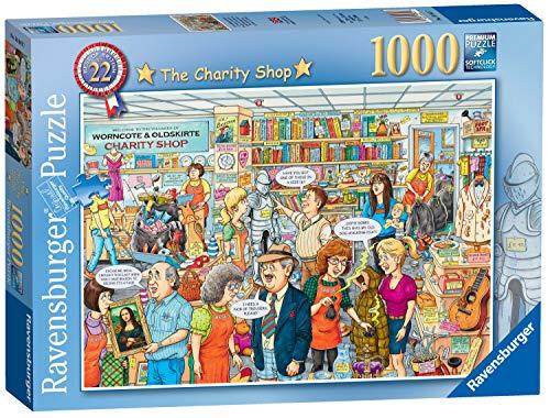 Ravensburger Best of British No.22 – statek charytatywny 1000 elementów puzzle dla dorosłych i dzieci w wieku od 12 lat