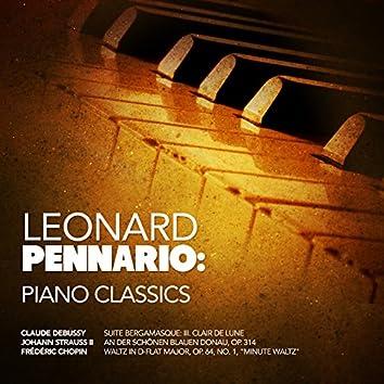Leonard Pennario: Piano Classics