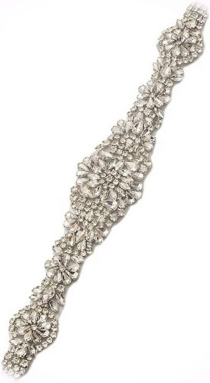 Crystal Applique with Endless Rhinestones Your Over item handling and Perfect for sold out F