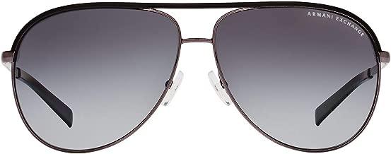 Armani Exchange AX2002 Sunglasses-601013 Light Gold /Brown Grad Lens-61mm