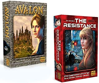 The Resistance Avalon Indie Card Board Game