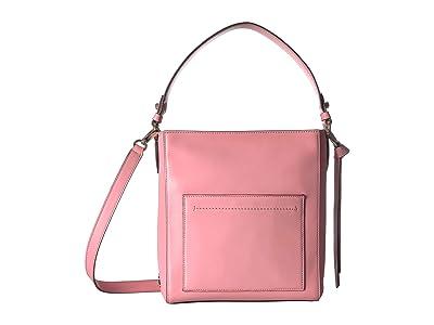 Cole Haan Kaylee Small Bucket Hobo (Flamingo Pink) Bags