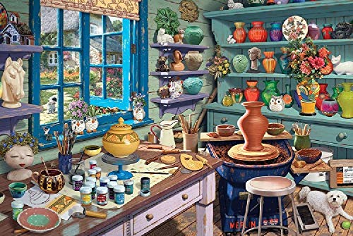 XDHYWS 500 Piece Jigsaw Puzzle, Vibrant Artwork, Perfect for Family Fun-Kitchen