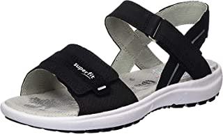 Superfit Girl's Rainbow Ankle Strap Sandals