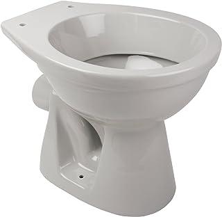 56174 7 Stand WC Tiefspuler Abgang Waagerecht Manhattan Grau Toilette