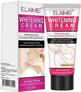 Artibetter crema blanqueadora crema aclaradora para axilas rodillas codos zonas sensibles