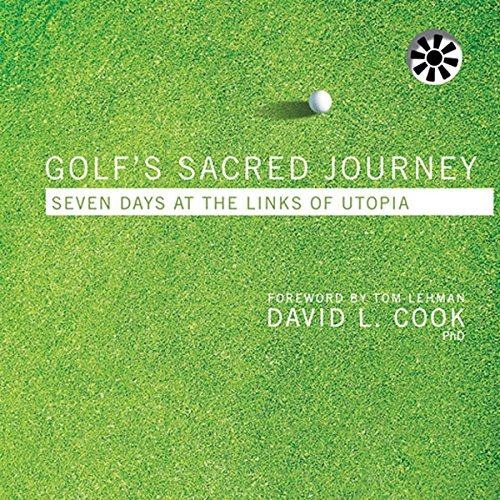 Golf's Sacred Journey audiobook cover art