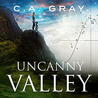 Uncanny Valley audiobook cover art