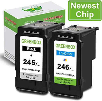 GREENBOX Remanufactured Ink Cartridge Replacement for...