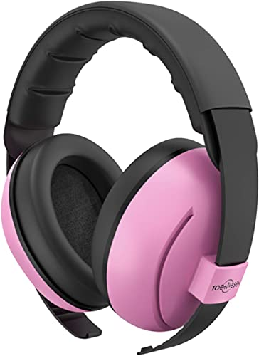 Baby Ear Protection TOENNESEN Noise Cancelling Headphones for 3 Months to 3 Years, NRR 34dB Noise Reduction Ear Muffs...