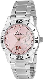 74eb61901e Jack Klein Stylish Pink Dial Metal Analog Watch for Women