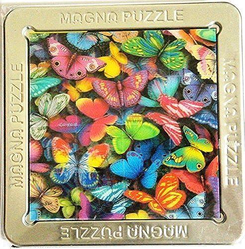 3-D Magna Puzzle Butterflies 16 Piece Puzzle (Taille 4.5 X 4.4 approx) by 3-D Magnatile Puzzle