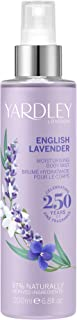 Yardley Yardley English Lavender Moisturising Fragrance Body Mist 200Ml - 200 ml