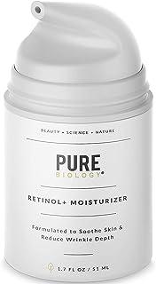 [Pure Biology] [Premium Retinol Cream Face Moisturizer – Face & Eye Skin Care] (並行輸入品)