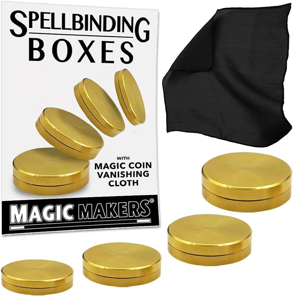 Magic Makers Spellbinding Boxes - Cloth I Indianapolis Mall Vanishing Ultra-Cheap Deals Professional