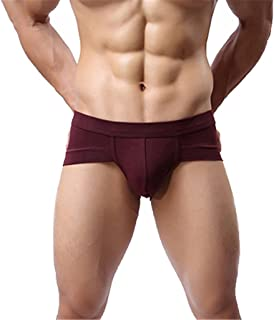 Verlike Men Sexy Boxer Briefs Trunks Underwear Shorts Bulge Pouch Comfy Soft Underpants