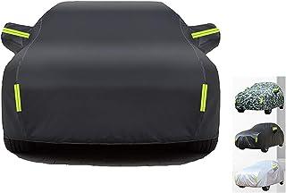 HWHCZ Autoplanen Car Cover, 100% wasserdicht und hitzebeständige Autoabdeckung, kompatibel mit Autoabdeckung Dodge Challenger, 4 lagige Baumwollfutter Autoabdeckung (Color : B)