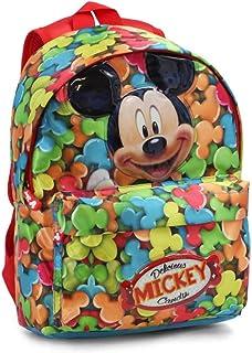 Mickey Mouse Delicious Mochilas Infantiles, 32 cm, Rojo