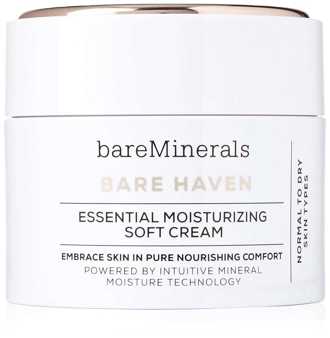 外出耐えられない電子レンジベアミネラル Bare Haven Essential Moisturizing Soft Cream - Normal To Dry Skin Types 50g/1.7oz並行輸入品