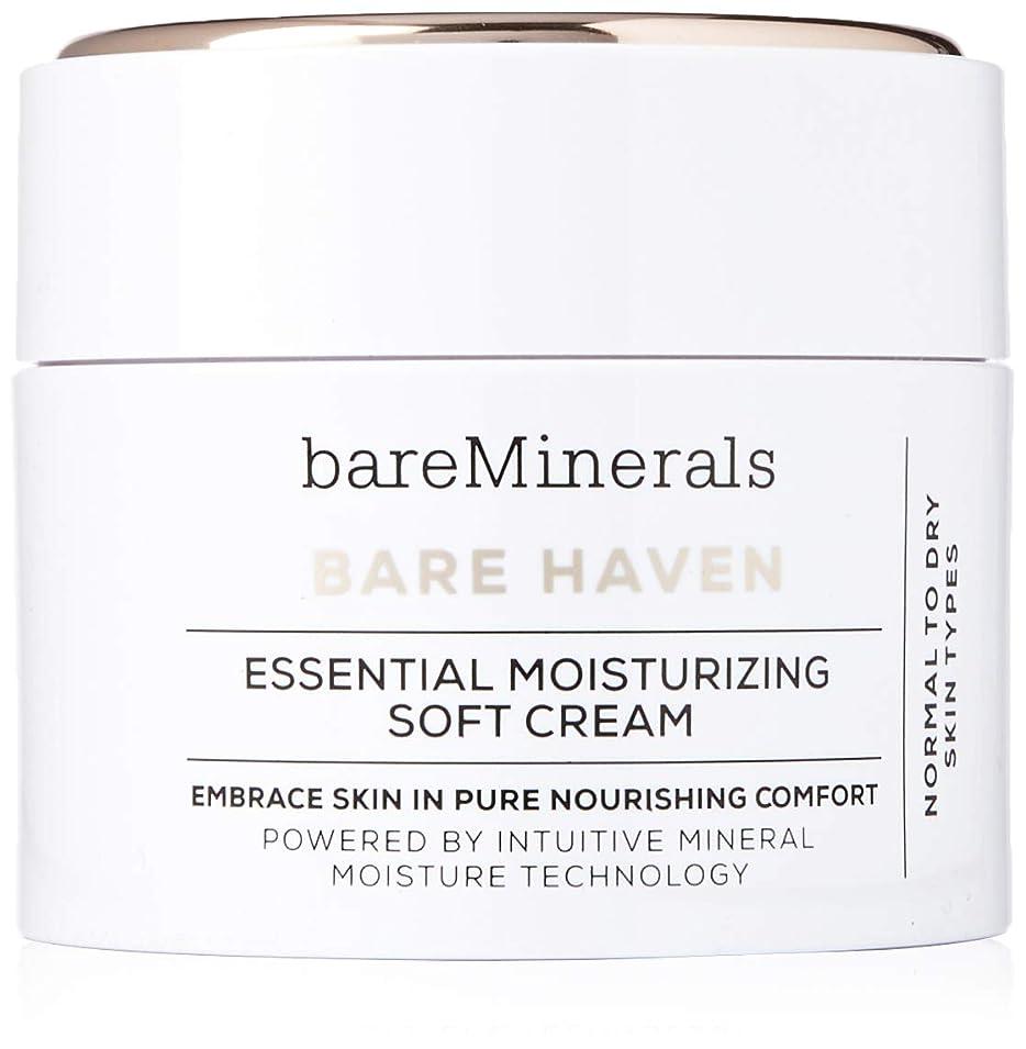 論理的にプレミアムソーダ水ベアミネラル Bare Haven Essential Moisturizing Soft Cream - Normal To Dry Skin Types 50g/1.7oz並行輸入品