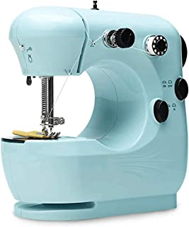 PortableSewing Machine, Mini Electric Sewing Machines with Extension Table, Household Lightweight Hand Sewing Machine for ...