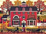 Buffalo Games - Charles Wysocki - Benjamin's Music Store - 1000 Piece Jigsaw Puzzle