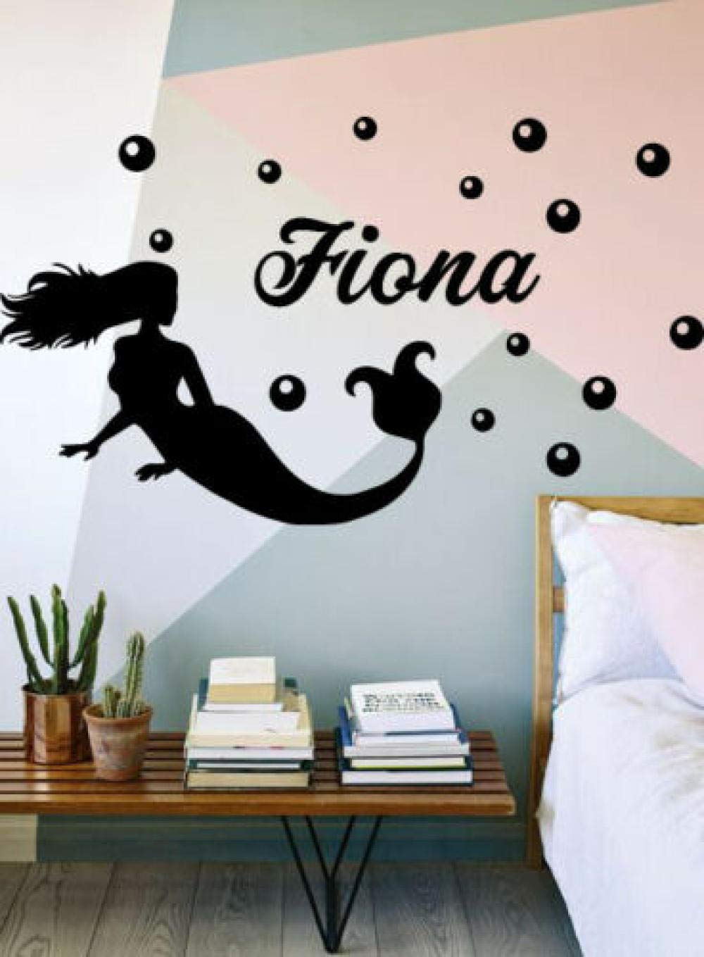 DDSYJ Nashville-Davidson Mall 3D Wall Stickers Personalized Name Decal P Bombing new work Sticker Vinyl