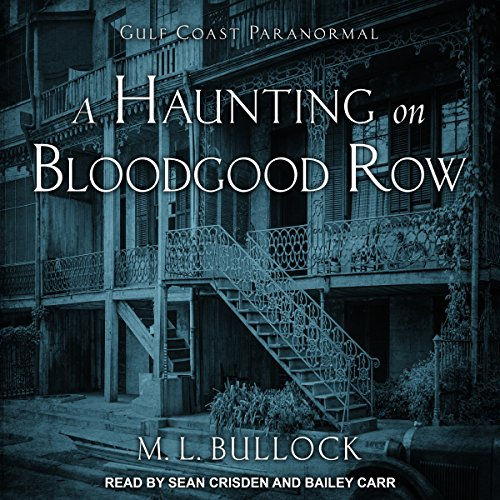A Haunting on Bloodgood Row audiobook cover art