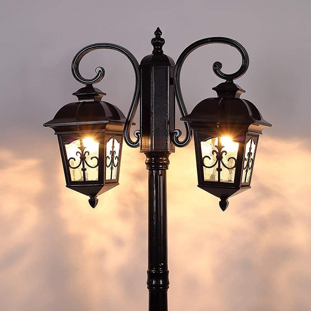 Outdoor Max 56% OFF New Free Shipping garden lights 2-Lights Landscape Post Court Lamp