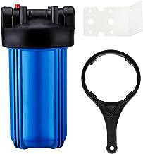 Geekpure 4,5 pouce x 10 pouce Grand Bleu Filtre à eau logement cartouches de filtre Boîtier bleu