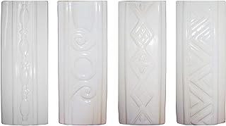 Humidificador de 4 piezas de cerámica RELIEF para fijación al radiador de calefacción difusor de agua a1665