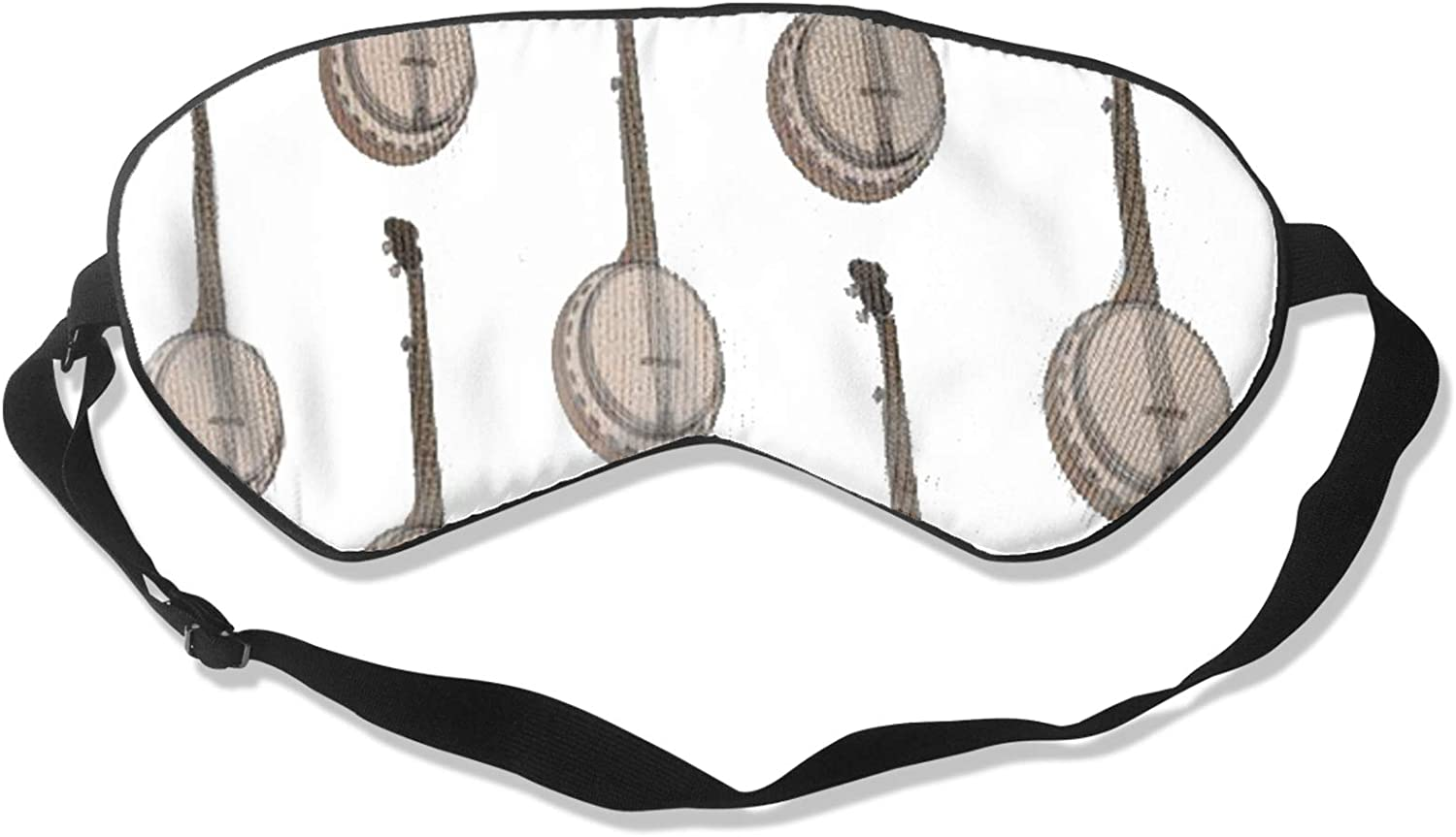Light Blocking Banjo Musical Sleeping Mask for 3D security Men Cont Women Discount is also underway