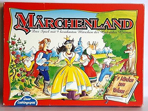 Märchenland. Das Spiel mit 9 berühmten Märchen der Gebrüder Grimm