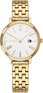 Tommy Hilfiger Womens Quartz Watch, Analog Display and Stainless Steel Strap 1782054