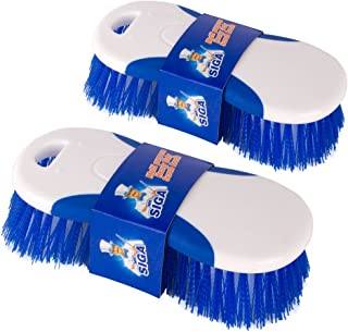 MR. SIGA Multi Purpose Heavy Duty Scrub Brush - Pack of 2