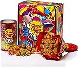 Chupa Chups Gift Box, Confezione Regalo con Flower Bouquet Chupa Chups da 19 Lollipop e Mi...