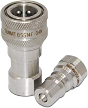 stainless steel quick disconnect couplings