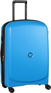Delsey Paris Hardside Suitcase, 70 Centimeters, Metallic Blue