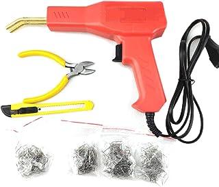 SODIAL Herramientas De Garaje Soldador De Plastico Practico Maquina Grapadora Caliente De Reparacion De Plastico De