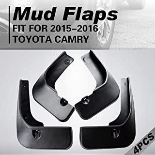 FerryLife Wheels Heavy Duty Splash Guards Mud Flaps fit for 2015-2016 Toyota Camry (4 Pack, Front & Rear & Left & Right)