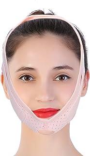 Gezichtsvermageringsverband, gezichtsliftriem Gezichtsversterkende verstevigende riem Elastisch voor rust en slaap