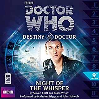 Doctor Who - Destiny of the Doctor cover art