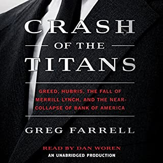 Crash of the Titans audiobook cover art